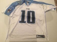 VINCE YOUNG Tennessee Titans Jersey NFL Reebok Size Mens XL White Home