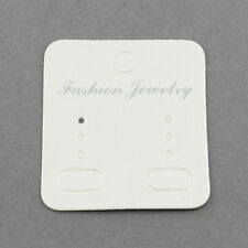 Paper Display Cards, Used for Earrings 100 pieces