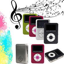 Mini LCD Screen USB Digital MP3 Player Support 32GB Micro SD TF Card 3.5mm Jack