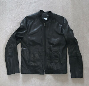 Armani Collezioni Leather Jacket/ 50 IT/ 40 UK/ perfect condition