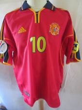 Spain Euro 2000-2002 Raul 10 Home Football Shirt Size XL /34427