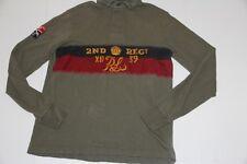 Ralph Lauren Polo $165 Cotton Rugby Shirt  Medium M  Custom Fit