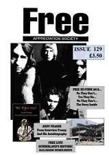 FREE APP SOCIETY #129 November 2012 Paul Kossoff Rodgers Simon Kirke Andy Fraser