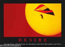 POSTER - SPORTS - DESIRE - HANG GLIDING  -  FREE SHIPPING ! #PM5008 RW16 D