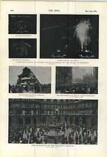 1900 DECORAZIONI Exchange Liverpool FALO 'Cambridge Chamberlain SQ Birmingham