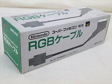 New Nintendo Official RGB Cable SHVC-010 Super Famicom SFC SNES Japan F/S