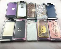 LOT OF 10  iPhone 6s Plus Case Cover Mix Design Wallet Diamond Card Liquid Shiny