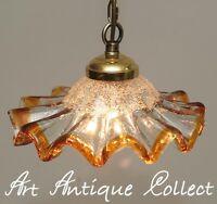 ANNI 70 murano lampada soffitto a sospensione paralume in vetro pendente 1 luce