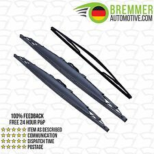 Vauxhall Vivaro MPV X83 (2006 to 2015) Wiper Blade Complete Set X3 Front Rear