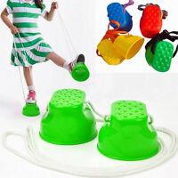 Balance entrenamiento zancos niños preescolar ejercicio jugar juguete 1  G2