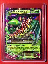 Pokemon card - M Sceptile EX XY Ancient Origins 8/98 Mega B&W Ultra Rare Holo