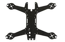 Spedix Black Knight 210 replacement upper carbon fiber frame plate (SPX-83057)