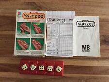 Spiel ?Reise Yahtzee?, MB Spiele, 1983 - komplett
