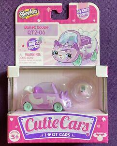 Shopkins Cutie Cars QT2-06 Ballet Coupe Series 2 - NEW