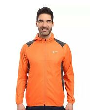 New Nike Golf Water Resistant Lightweight Jacket sz M Orange 803317-842 $120