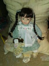 15 Inch Porcelain Doll With Her Doll By Kinnex