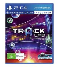 Tracklab VR Music Deejay DJ Studio Virtual Reality Game Sony Playstation 4 PS4