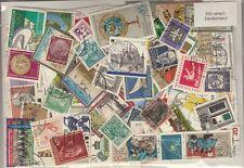 500 verschiedene Briefmarken aus Deutschland