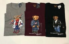 NEW POLO RALPH LAUREN BEAR LONG SLEEVE T SHIRT LIMITED EDITION TEE GRAPHIC