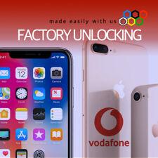 "iPHONE XR XS Max XS VODAFONE UK UNLOCK SERVICE is the ""Lifetime Unlock Solution"""