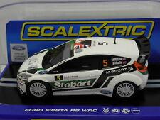 Scalextric C3284 Slot Car Ford Fiesta RS WRC Eddie Stobart No.5 M.1:32
