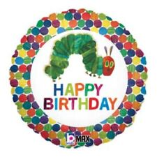 Very Hungry Caterpillar Foil Balloon Happy Birthday Party Supplies Helium