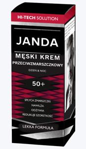 Janda MEN Hi Tech Solution Anti Wrinkle Nourishing Moisturising 50+ Cream 50ml