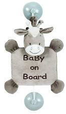 Nattou Noa il cavallo Bambino A Bordo Cartello Blu con ventose sicurezza per auto