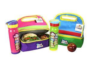Rainbow Lunch Bag - Blue