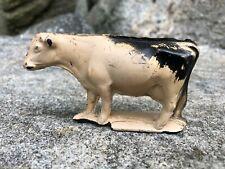 Auburn Cow White Rubber-Like Vinyl Hollow Body 70mm  1950s-1960s