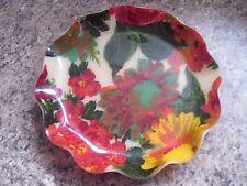 Vintage 1970's FAB Product Hardy Glenwood Fabric & Fibreglass Plate Mid Century