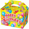 20 Happy Birthday Party Boxes - Food Loot Lunch Cardboard Gift Kids
