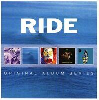 RIDE - ORIGINAL ALBUM SERIES BOX-SET  5 CD NEU