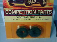 1/24 Cox #9810 Goodyear front slot car racing tires NEW OLD STOCK VINTAGE L