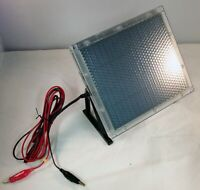 12V 12 Volt Solar Panel Battery Charger Hunting Trail Camera Deer Game Feeder