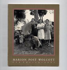 1983 Friends of Photography MARION POST WOLCOTT FSA PHOTOGRAPHS Roy Stryker 1st