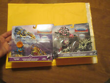 Skylanders SuperChargers LOT COMBO PACK BONE BASH ROLLER BRAWL,TOMB BUGGY,SODA +
