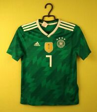 Germany jersey shirt #7 2017/2018 Away adidas football soccer size M 11-12 y.
