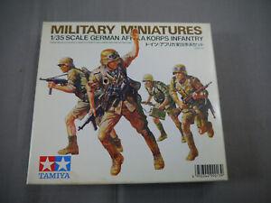 Tamiya 35008 German Africa Korps Infantry Military Miniature 1:3 5 (K12)
