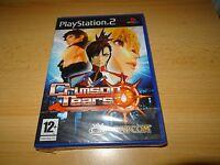 PS2 Crimson Tears Pal Reino Unido, Nuevo & Sony Precinto de Fábrica