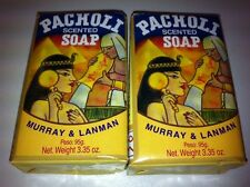 M&L PATCHOULI BAR SOAP 3.35 OZ. SET OF 2 WITH FREE SHIPPING IN THE U.S.!