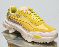 Puma x Kidsuper Studios Nitefox Men's Limelight Yellow Cream Lifestyle Sneakers