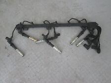 Mercedes-Benz M102 Zündkerzenstecker 6x A0001566610  Zündspule A1151590818