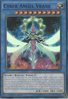 YU-GI-OH SUPER RARE CARD: CYBER ANGEL VRASH - INOV-EN036 - 1ST EDITION