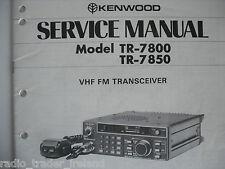 KENWOOD tr-7800 / 7850 (Manuale di servizio solo)............ radio_trader_ireland.