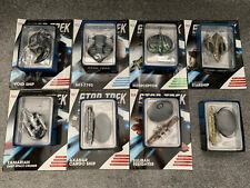 More details for star trek eaglemoss starship collection lot void, tamarian, karemma, orion lakul