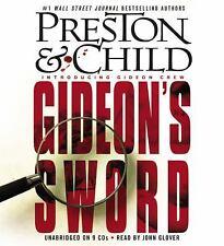 GIDEON'S SWORD unabridged audio book on CD by PRESTON & CHILD
