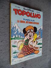 TOPOLINO # 1455 - 16 OTTOBRE 1983 - WALT DISNEY - MONDADORI