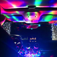 1x USB LED Light Car Interior Atmosphere Neon Colorful RGB Decor DJ Music Lamp