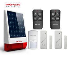 Wireless Outdoor Solar Siren Security Alarm System Simple Burglar System KeyFob